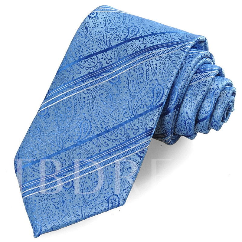 Business Paisley Jacquard Men's Necktie