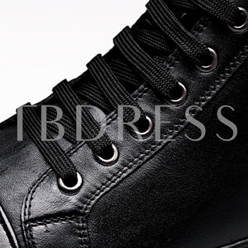 Round Toe Ankle Cross Strap Men's Sneakers