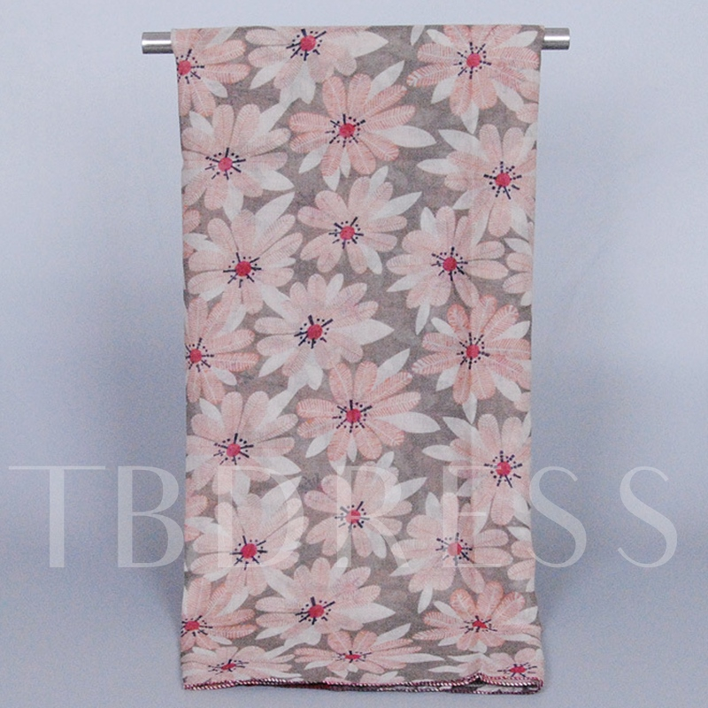 Hot Sale Floral Decorated Women's Scarf