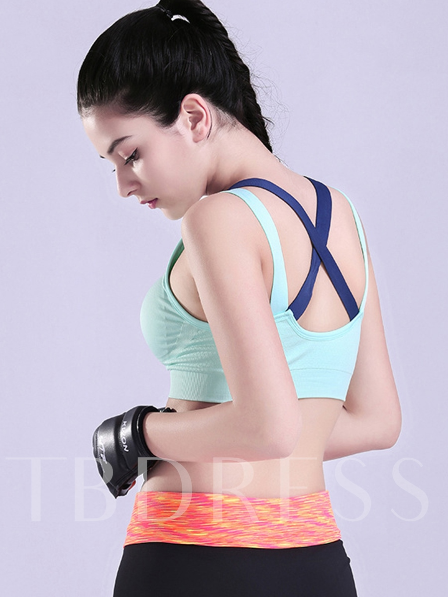 Pinkycolor Shockproof Y-Back Women Sports Bra