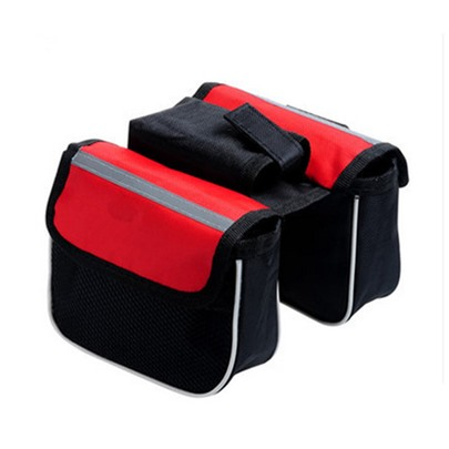 Nylon Waterproof Men's Saddle Bicycle Bag