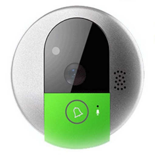 Wireless WiFi Video Doorbell Viewer Intercom via App Remote Control
