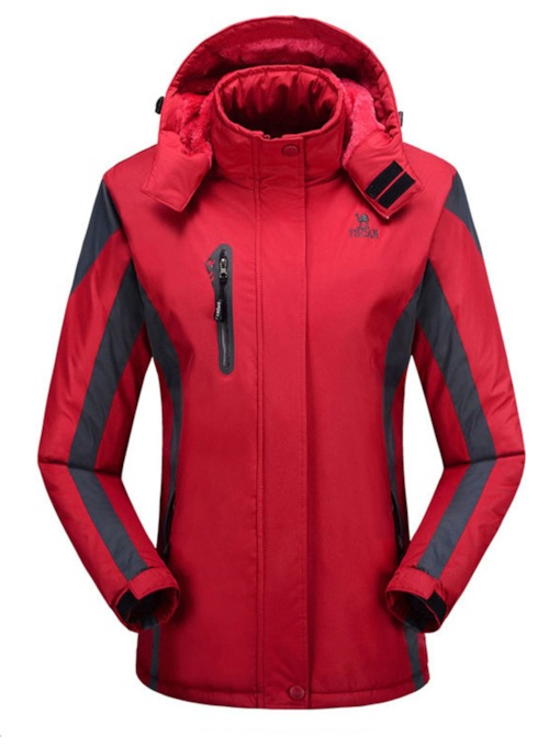 Windproof Waterproof Women's Jacket Plus Size Windbreaker
