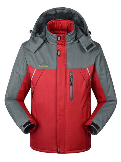 Plus Size Warm Thickening Windproof Waterproof Couple Ski Jacket
