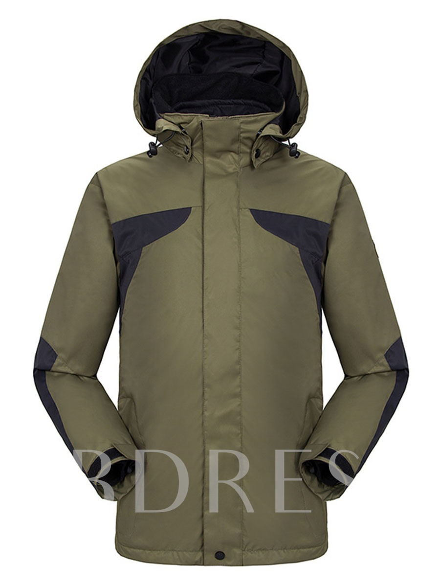 Casual Windproof Waterproof Two-Piece Men's Jacket