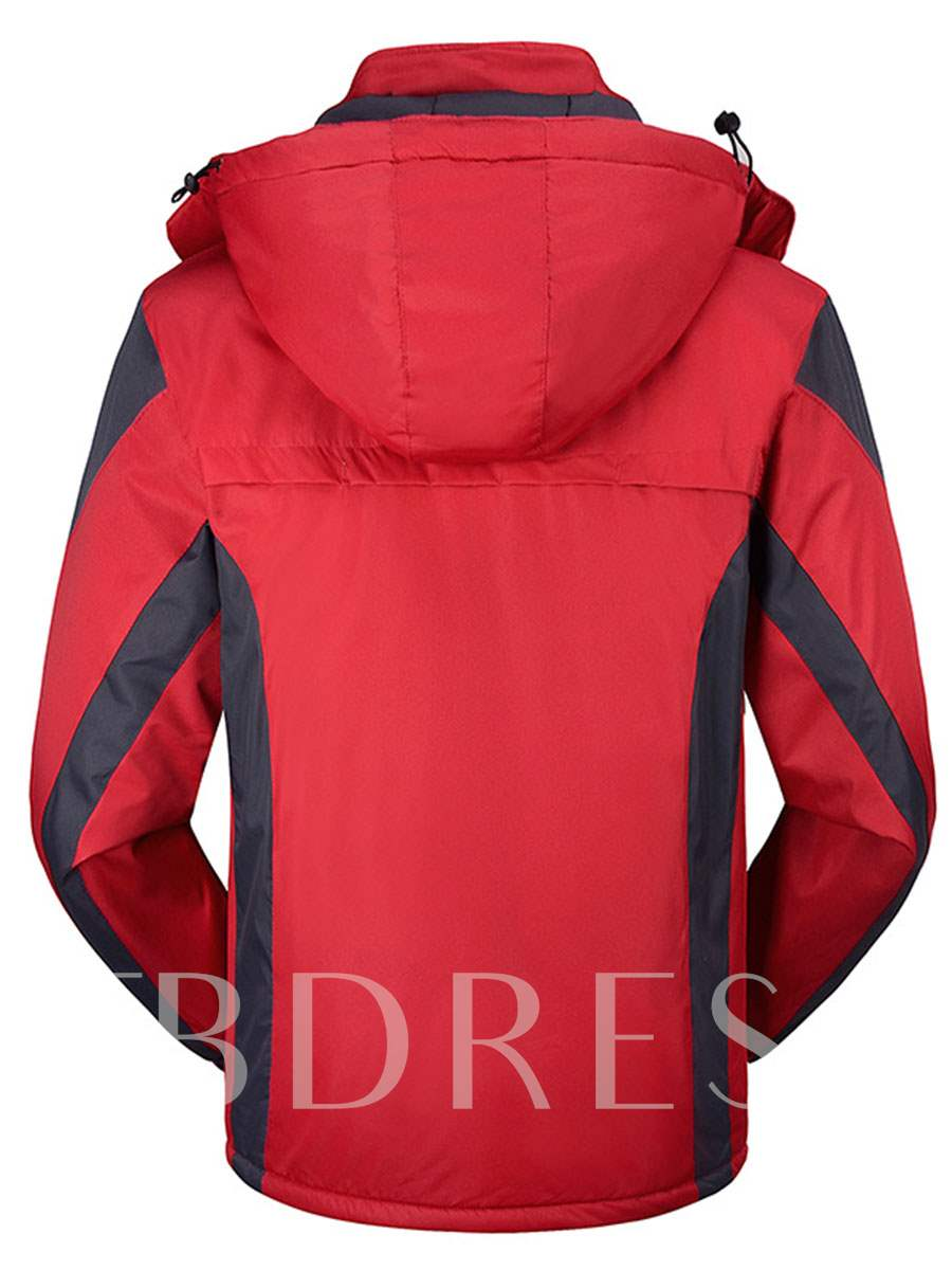 Outdoor Warm Thickening Men's Windbreaker (Plus Size Available)