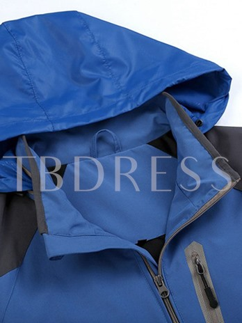 Breathable Warm Slim Fit Men's Windbreaker (Plus Size Available)
