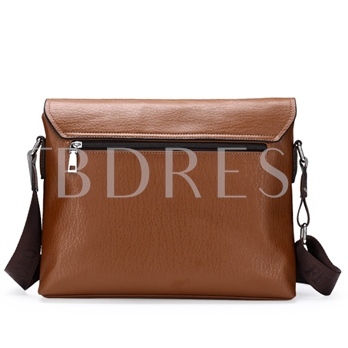Cowhide Artificial Leather Business Men'Handbag