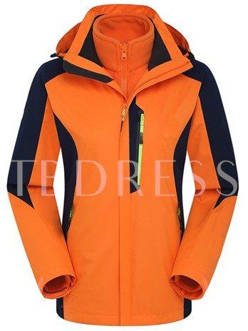 Waterproof Breathable Warm Two-Piece Couple Windbreaker (Plus Size Available)