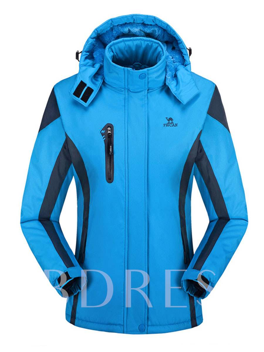Windproof Waterproof Women's Plus Size Windbreaker