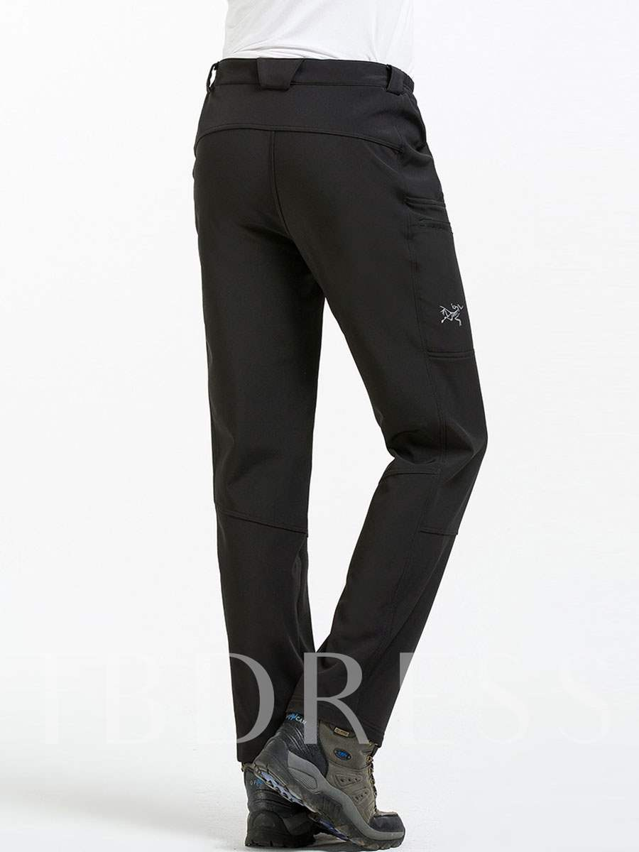 Fashion Fleece Lining Warm Men's Soft Shell Pants