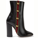 Rivets Ankle Chunky Heel Women's Boots