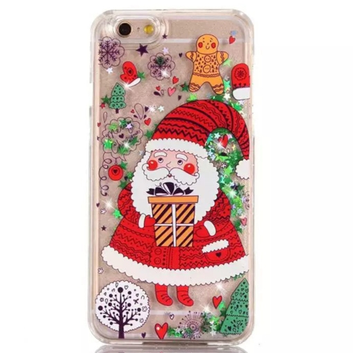 Apple iPhone 8/8 Plus/7/7 Plus Case,Cute Christmas Pattern Bling Star Shell