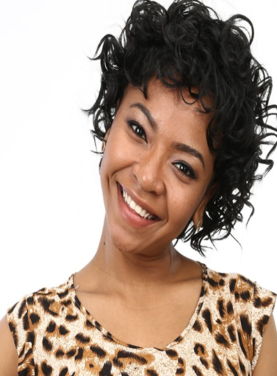 New Short Curly Capless Synthetic Hair Wig 10 Inches