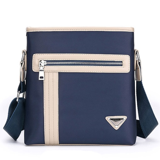 Leisure Vertical Type Square Men's Shoulder Bag
