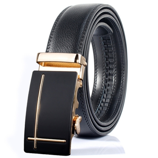 Stylish Cross Design Automatic Buckle Men's Belt