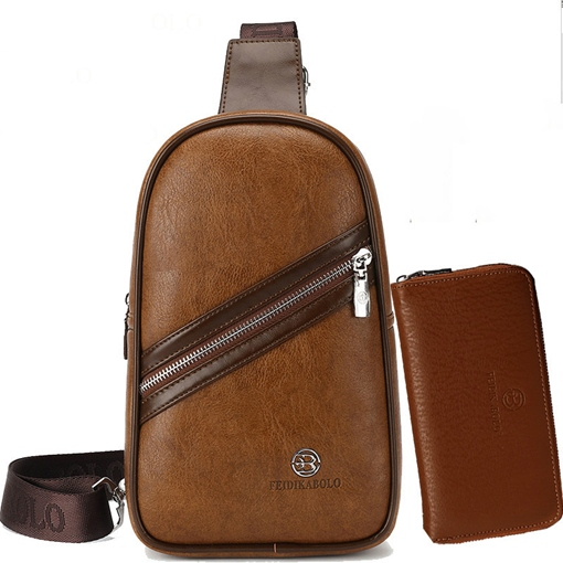 Men's Business Chest Shoulder Bag