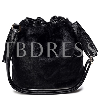 Luxurious Cony Hair Women Shoulder Bag