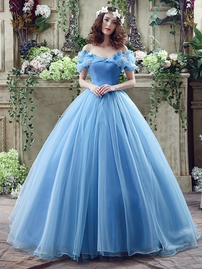 Off The Shoulder Sequins Ball Gown Cinderella Wedding Dress Off The Shoulder Sequins Ball Gown Cinderella Wedding Dress