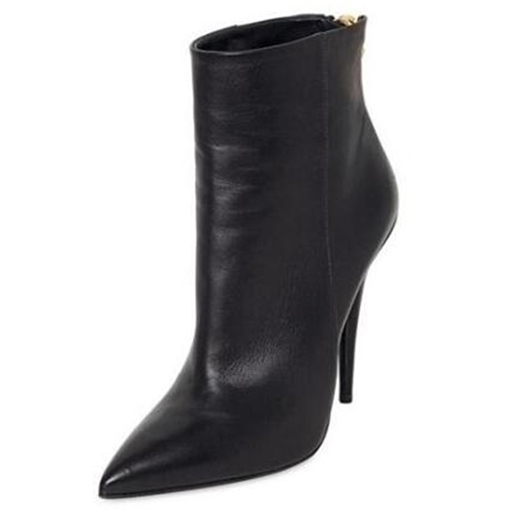 Ultra-High Heel Pointed Toe Back Zipper Women's Boots