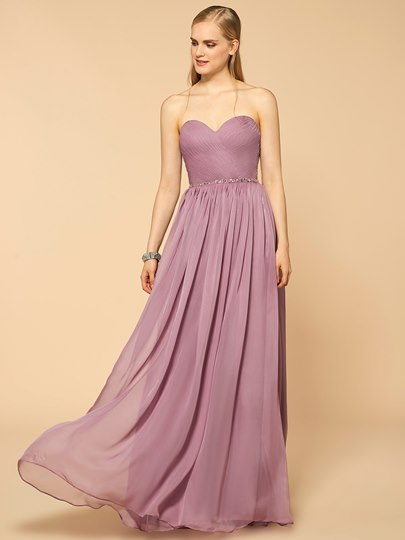 Sweetheart Ruched Beading A-Line Bridesmaid Dress With Jacket