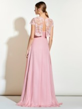 Sweetheart Long Bridesmaid Dress with Lace Jacket