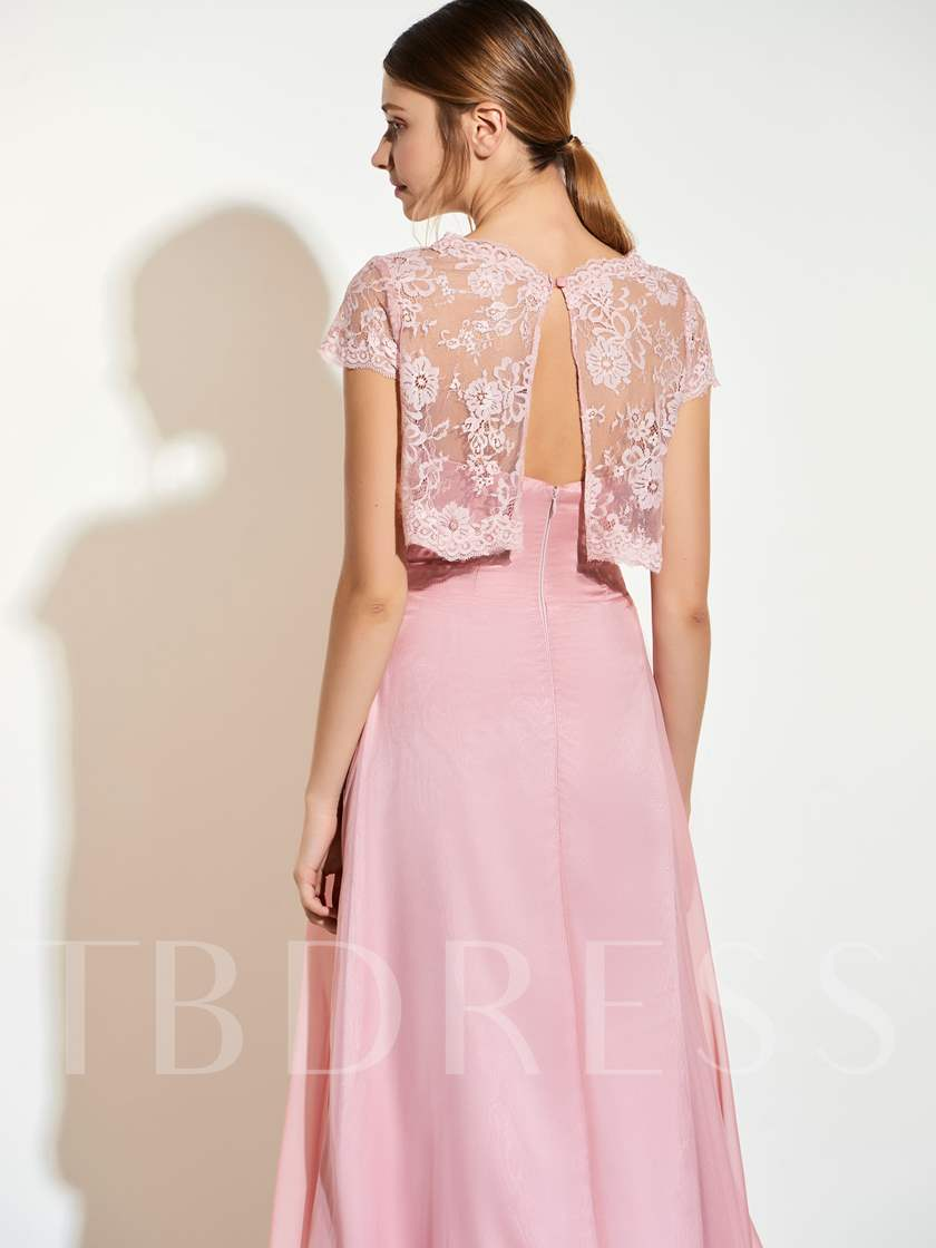 Sweetheart Appliques Floor-Length A-Line Bridesmaid Dress With Jacket