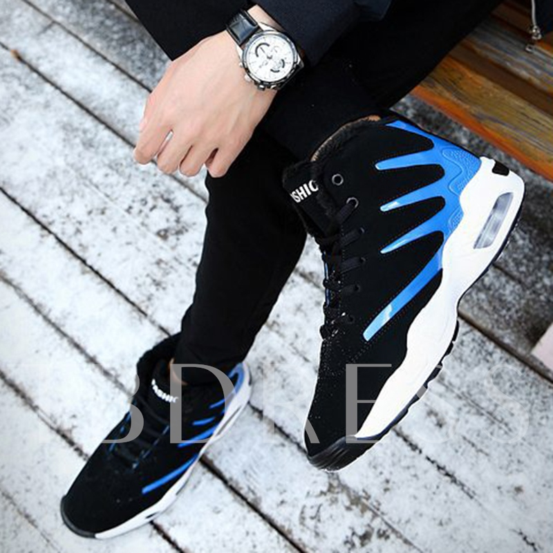 Round Toe Ankle Cross Strap Men's Shoes