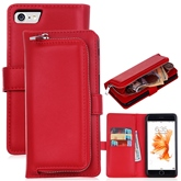 For iPhone8/8 Plus/7/7Plus/6/6s Samsung S8/S7 Cover PU Artificial Leather Wallet Case