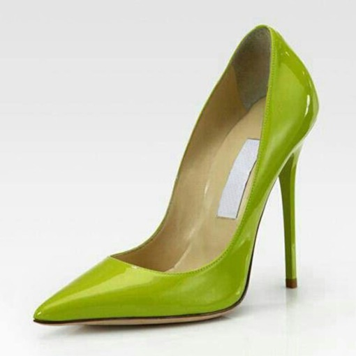Greenery Chic Stiletto Heels