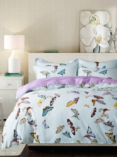 Butterfly Cute 4-Piece 3D Bedding Sets/Duvet Covers