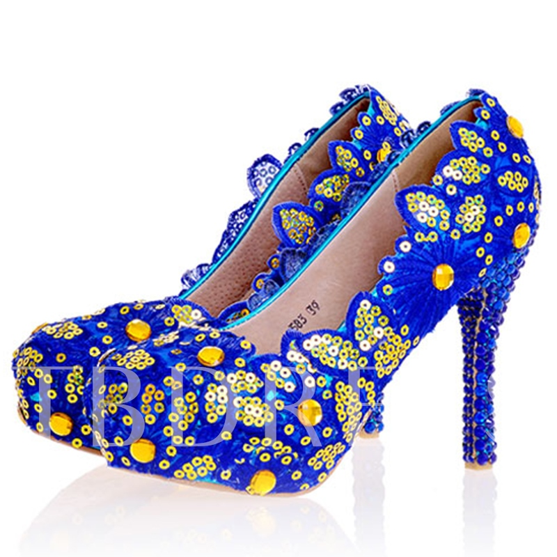Buy Sequins Ultra-High Heel Wedding Shoes, Spring,Summer,Fall, 12724660 for $64.99 in TBDress store
