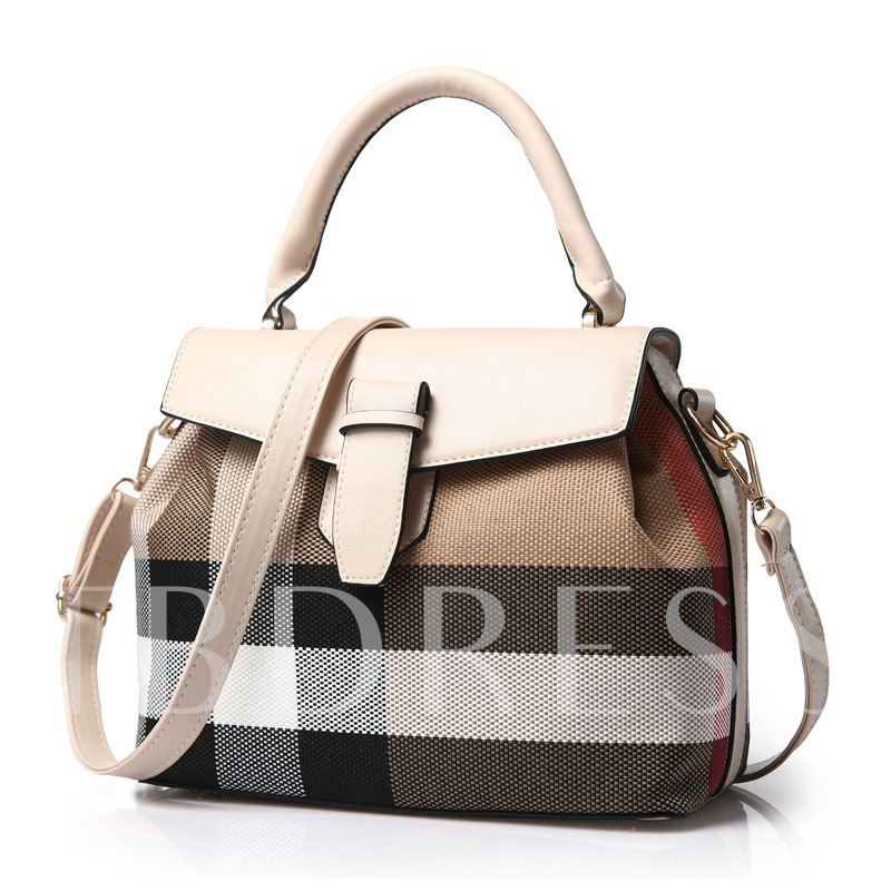 Sweet Metal Hook PU Women's Tote Bag