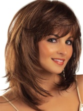 Synthetic Hair Women 14 Inches 120% Wigs