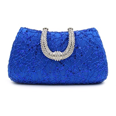 Upscale Sequins Diamante Evening Clutch