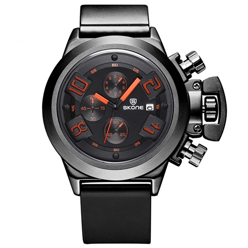 Quartz Movement Right Adjustment Design Men's Watch