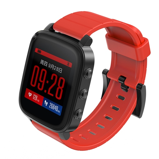 SMATIME Smart Watch 3ATM Waterproof Heart Rate Monitor for Apple Android Phones