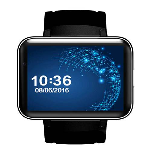 DM98 2.2-inch HD Camera Smart Watch Phone 512MB+4GB GPS Wifi 3G SIM Smartwatch Phone