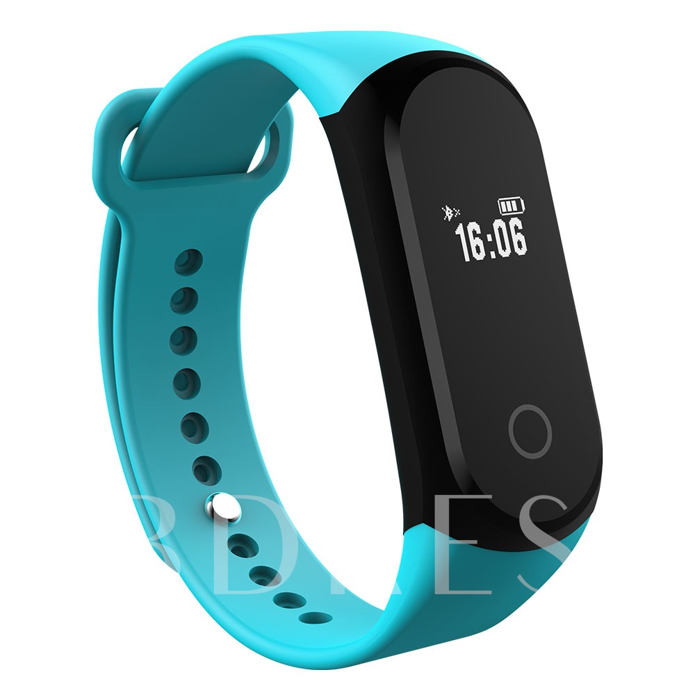 Image of A16 Smart Bluetooth Wristband Support Heart Rate Monitor & Remote Camera
