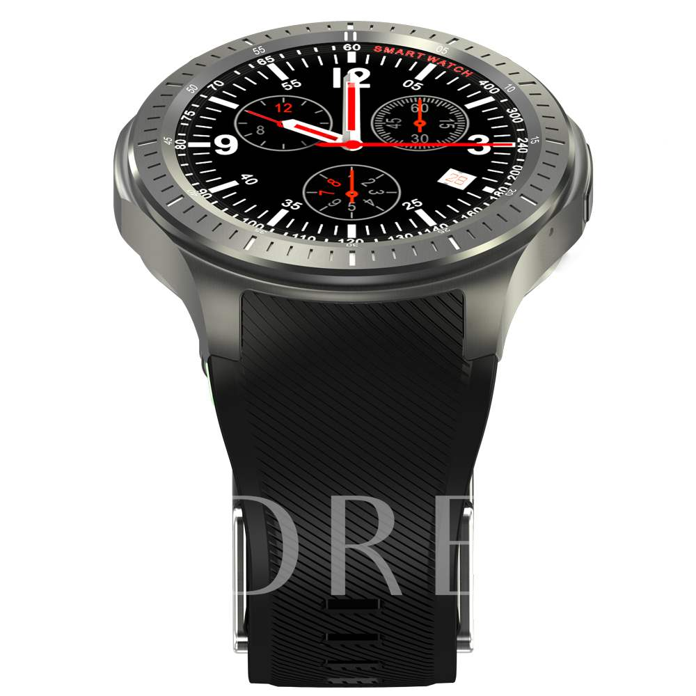 DM368 3G Smart Watch Phone with GPS/Wifi Support Weather Forecast & SIM-card
