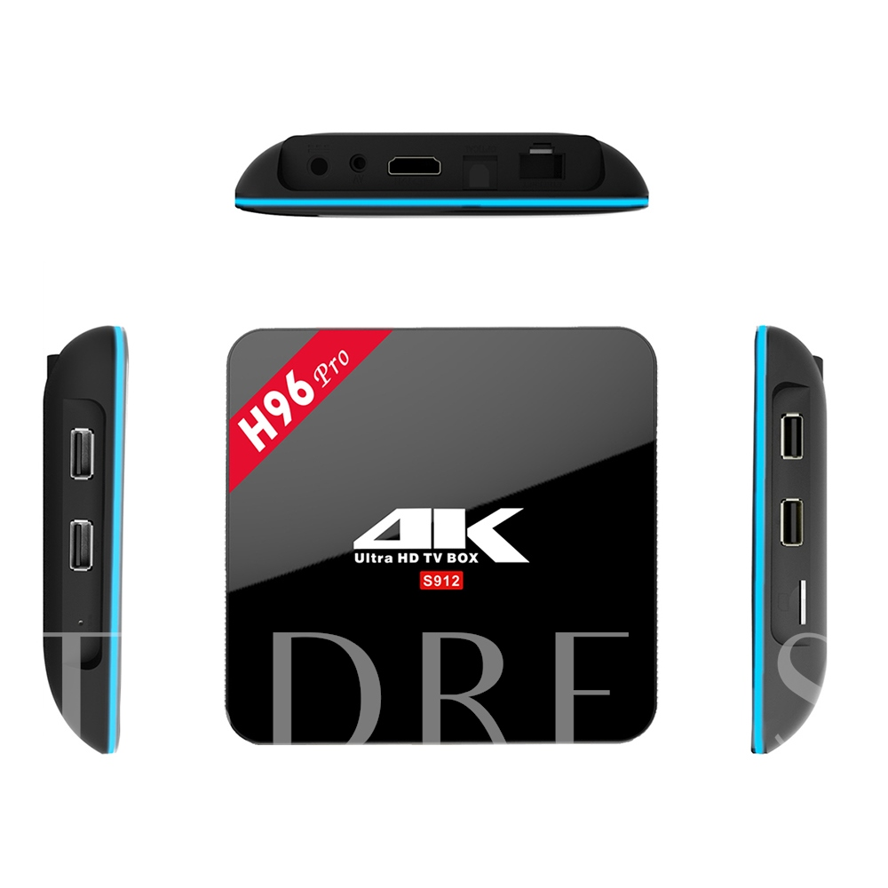 H96 Pro 4K TV Box Octa Core Android 3G/16G WiFi Media Player Support Kodi