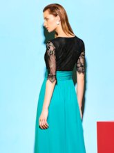 Lace Party Floor Length Women's Maxi Dress