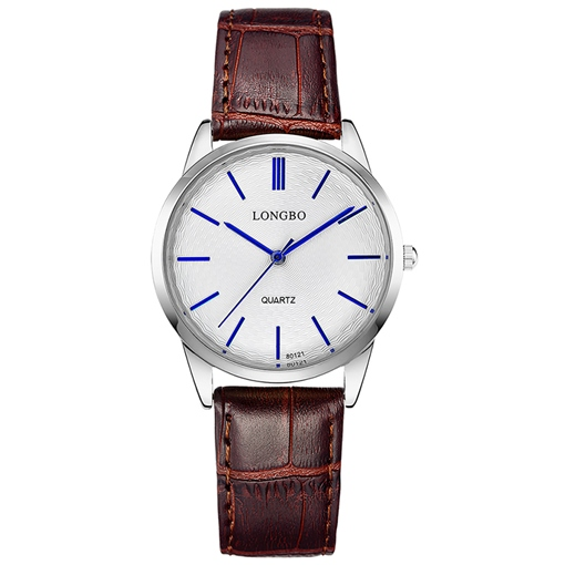 Blue Pointer Analog Display Women's Watch