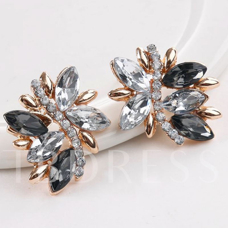 Vintage Style Rhinestone Two-Pieces Jewelry Set