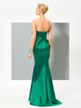 Sweetheart Trumpet Ruffles Long Evening Dress