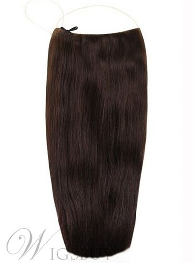 Natural Straight Human Hair Flip In Hair Extension For Women