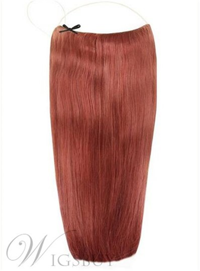 Natural Straight Human Hair Flip In Hair Extension