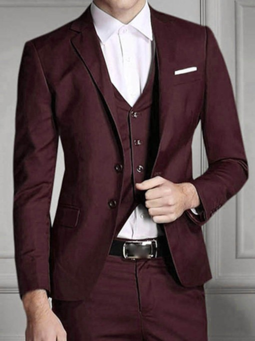 Best Men Costumes avec Solid Color
