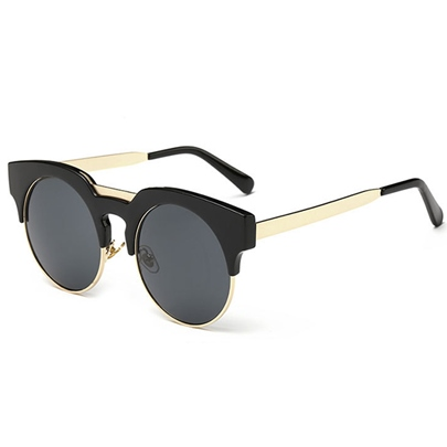New Style Metal Frame Cat's Eye Sunglasses