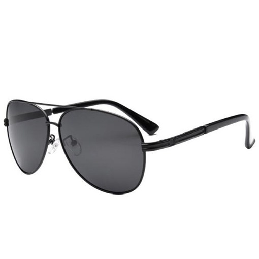 New Style Metal Frame Unti-UV Men's Polarized Sunglasses
